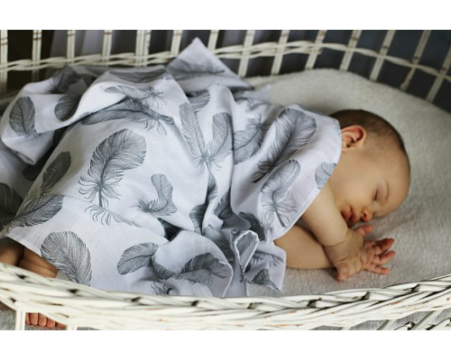 Muslin Swaddle 100% Cotton  | 2...